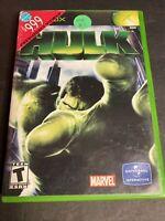 Hulk Original Microsoft Xbox Game Complete W/ Manual & Tested Free Shipping