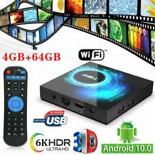 Hot 4GB+32GB/64GB T95 Android 10.0 TV Box Quad Core HD 6K HDMI WIFI Media Player