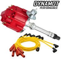HEI Distributor Chevy Small Big Block Spark Plug Wire Combo SBC 327 350 BBC 454