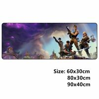 Mouse Pad Overlock Rubber L XL XXL gaming Pc Computer Keyboard Mat Accessories