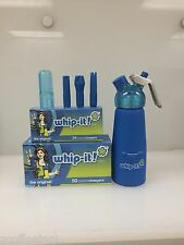 200 Whipped Cream Chargers Nitrous Oxide N2O WHIP-IT BEST QUALITY COMBO BLUE