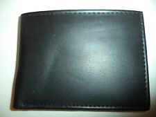 Magnum Genuine Leather Bifold Wallet, Black
