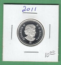 2011 Canadian Proof 25 Cents Coin From Proof Set
