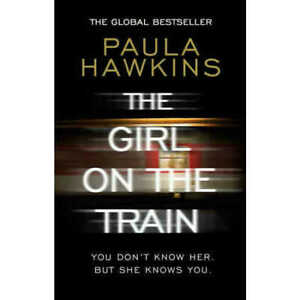 THE GIRL ON THE TRAIN BY PAULA HAWKINS (2016) SPECIAL RED EDITION PAPERBACK BOOK