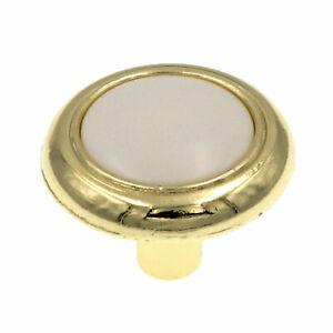 Amerock Allison  Polished Brass Designer Cabinet Knob ~ 244WPB ~ NEW ~