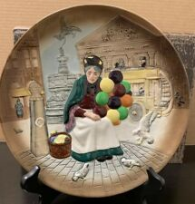 """Vintage 1979 Royal Doulton #D6649 """"The Old Balloon Seller"""" Lady Collector.#1037"""