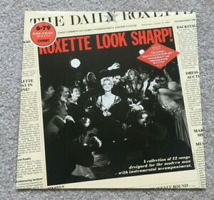 ROXETTE 'Look Sharp' 1988 Vinyl LP on EMI Records + Inner Sleeve A1/B2