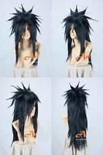 NARUTO Uchiha Madara Long Black Cosplay Party Wig Animation Modeling Wig Hair