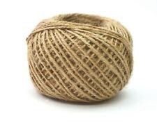 Natural Brown Jute Burlap Rope Twine String Cord Shank Craft Making DIY 55 YARD