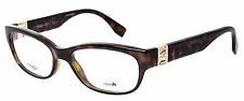 Fendi FF 0048 EDJ Havana/Brown Cat Eye Women's Eyeglasses