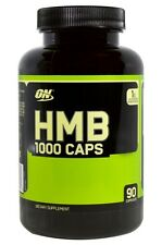 Optimum Nutrition HMB 1000mg BCAA Cuts Strength Clear Muscle Boost 90 Caps