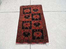 3x5ft. Afghan Ersari Wool Prayer Rug