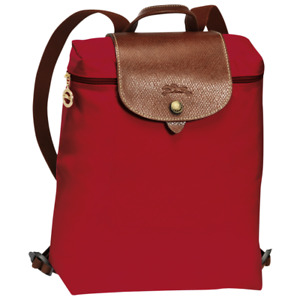 Authentic Longchamp Red Backpack  RRP195.00