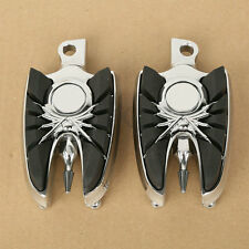 Repose-pieds repose-pieds en aluminium à monture mâle pour Harley Dyna Sportster