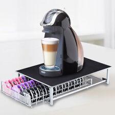 60 POD TASSIMO COFFEE CAPSULE RACK HOLDER DISPENSER STAND DRAWER STORAGE