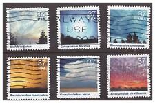 United States, 3878a-o, USED, 2004, 37c Cloudscapes, OFF PAPER
