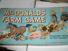 MacDonald's Farm Game Selchow & Righter 1948