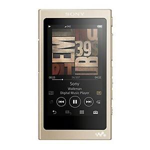 Sony Walkman A Series 16Gb Bluetooth Microsd Hi Resolopale Gold Nw-A45 N