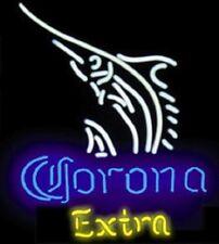 "New Corona Extra swordfish Bar Neon Light Sign 19""x15"""