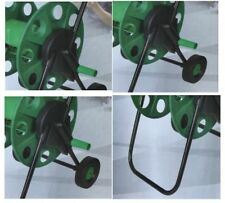 FAME HOSE PIPE REEL HOLDER TROLLEY CART GARDEN WATER PORTABLE FRE STANDING STAND
