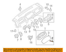 NISSAN OEM 05-16 Frontier Dash Cluster Switch-Reset Knob 248299CA0A