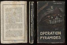 C1 Cyril BEATON Operation Pyramides FN ESPIONNAGE 9 1951 EDITION ORIGINALE Rare