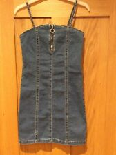 New Look Girls Denim Dress, Age 10 Years, Worn Once