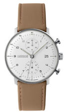 💎 RIVER EDGE JEWELERS Junghans 027/4502.00 Max Bill Chronoscope Watch 💎
