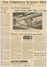 Moon Landing Historic Space Moment approaches Nasa Cape Kennedy July 15 1969 B1