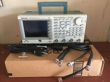 Tektronix AFG3102 100MHZ Dual Channel Arbitrary Function Generator w/ BNC cables