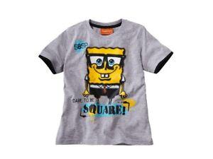 Boys T shirt Batman Simpsons Spongebob Squarepants 2 3 4 5 6 7 8 9 10 years age