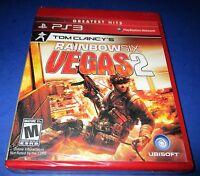 Tom Clancy's Rainbow Six: Vegas 2 Sony PlayStation 3 Factory Sealed! Free Ship!