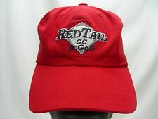 RED TAIL JR. GOLF - EMBROIDERED - BOYS S/M SIZE ADJUSTABLE BALL CAP HAT!