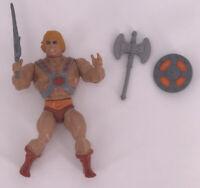 Vintage 1981 Masters of the Universe Complete Figure MOTU He-Man Soft Head Sword