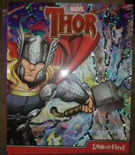 NEW Marvel Comics Thor Look & Find HC illustrated Activity Book Early Reader