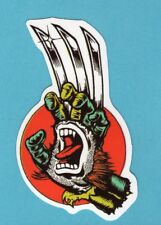 Lot of 2 Screaming Hand, Wolverine,Vinyl Stickers for Skateboard/Laptop