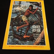 NATIONAL GEOGRAPHIC MAGAZINE-NOVEMBER 1991-ZAIRE RIVER,N ZEALAND INSECT,SATELLIT