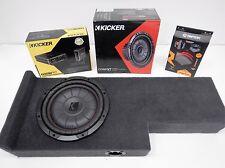 Subwoofer box amp combo Fits 2005 - 2015 Nissan Frontier Crewcab sub enclosure