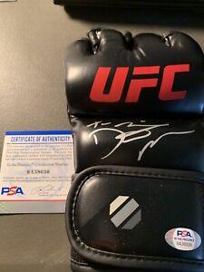 Dustin Poirier Signed Autographed UFC Glove PSA COA