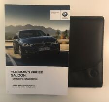 BMW 3 SERIES SALOON OWNERS PACK / HANDBOOK COMPLETE WITH WALLET 2012~2018 (2015)