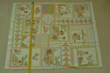 """35"""" Long x 44"""" Wide Cotton Panel, Tenderberry Stitches, Northcott/Reynolds M6753"""