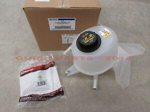 2001-2011 Ford Ranger 2.3L Radiator Coolant Fluid Overflow Tank & Cap OEM NEW
