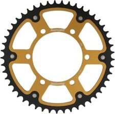 Supersprox Motorcycle Rear 520 Stealth Dual Sprocket 49T Gold RST-486-49-GLD