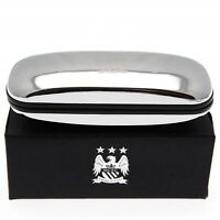 Man City Chrome Glasses Case in Gift Box - Ideal Gift for a City Fan