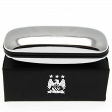 Man City Chrome Glasses Case in Gift Box - Ideal Football Gift for a City Fan