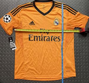 Real Madrid Shirt Third Kit Champions League Adidas Original 2012 2013 Bnwts. M