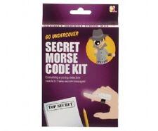 Secret Morse Code Kit-sc179 DEL Spy Light Morse Code Chart Mirror Fendue & Pad