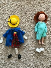 """Madeline 8"""" Poseable Doll 1996 Eden School Dress and bedtime outfit"""