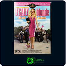 Legally Blonde (DVD)Reese Witherspoon - Luke Wilson - Comedy - Region 4