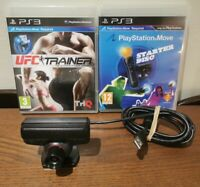 Playstation 3 Eye Camera With Starter Disc & Game PS Move Camera PS3